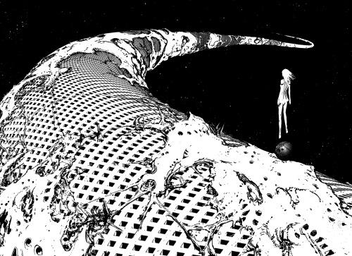 The harsh beauty of Tsutomu Nihei's Biomega