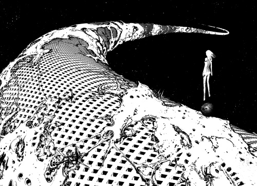 Looking out on Tsutomu Nihei's new world