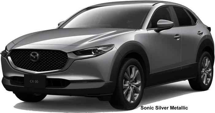 New Mazda Cx30 Body Colors Full Variation Of Exterior