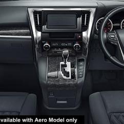 All New Alphard Hybrid Perbedaan Grand Avanza Veloz 1.3 Dan 1.5 Toyota Cockpit Picture Driver View Photo And Black Color For Aero Body Model Only