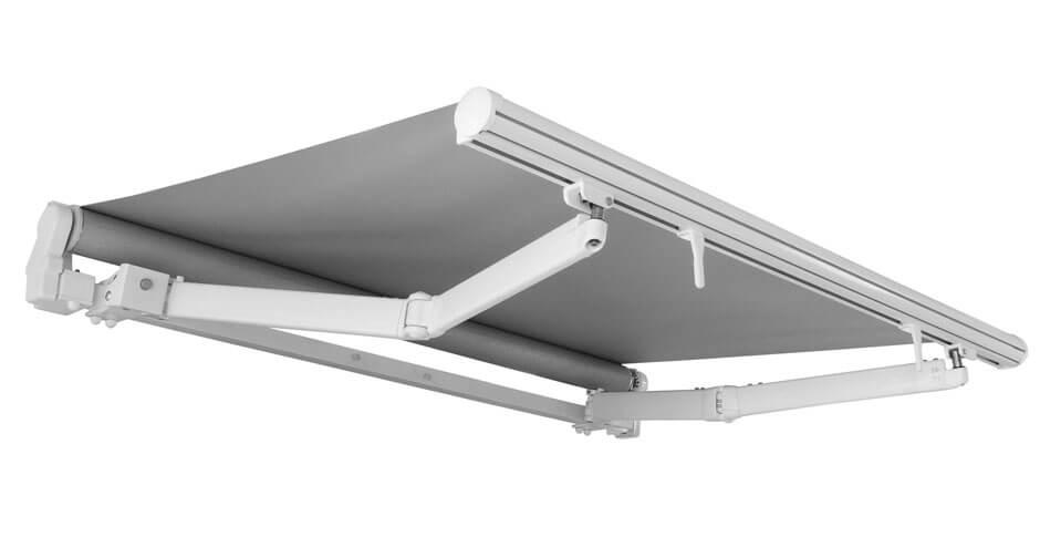 Tenda da sole modello 8000 a bracci, con fissaggio tramite staffe laterali,. Sistema Tende Da Sole A Bracci Estensibili 2020 Bat Group