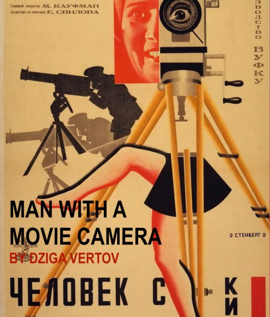 Man with a Movie Camera -Poster