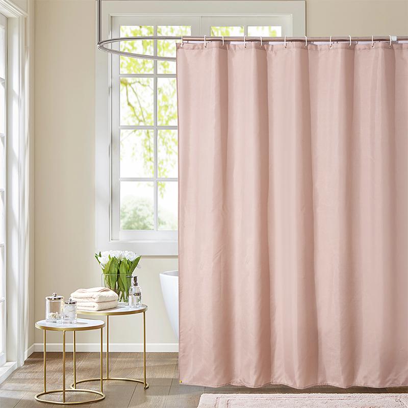 cool shower curtains cheap Brown Solid  bathsuppliesstore