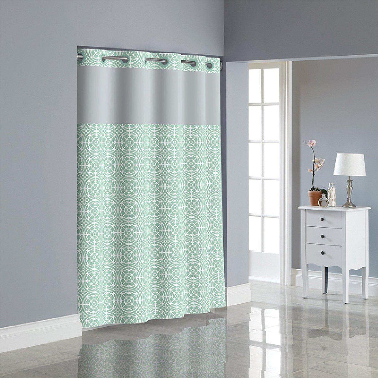 kohls shower curtains hookless  bathsuppliesstore