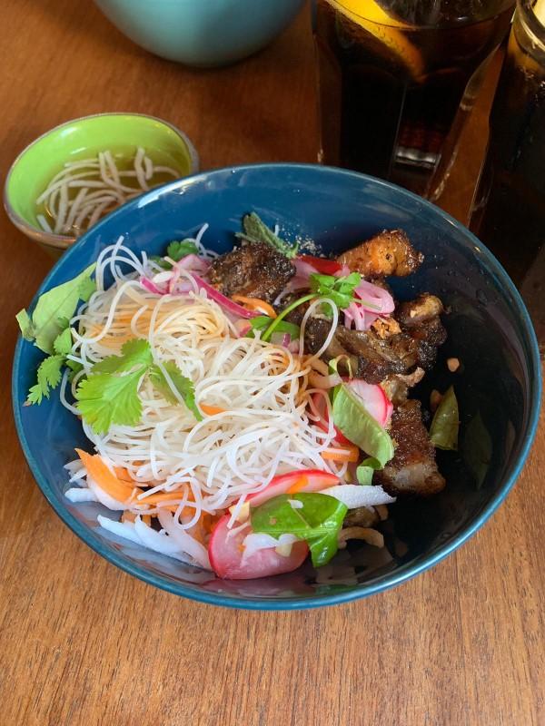 Noya's Bun Cha with Pork Belly