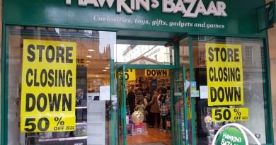 Hawkins Bazaar Closing