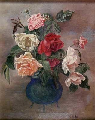 איזה יופי! היטלר מתרשם, ורדים באגרטל