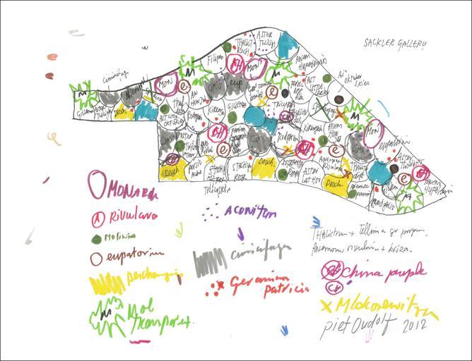 תיכנון נוף כיצירת אמנות - פיט אודולף