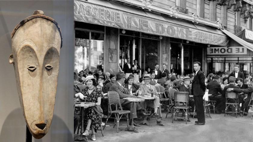פיקאסו - אפריקה ובית קפה בפאריז בתחילת המאה העשרים. אינטגרציה כואבת לרשתית