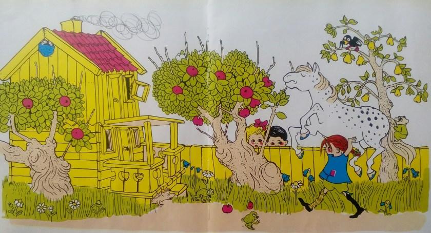 פנטזיה אחרת. בילבי בת גרב ועץ התפוחים בוילה מצחיקולה