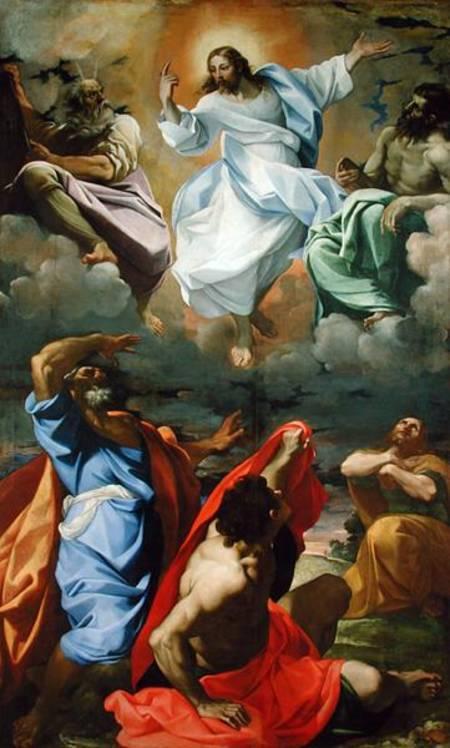 """רפאלו סנציו, """"טרנספיגורציה של ישוע"""", דינמיקה מעגלית דרמטית ומורכבת עוד ברנסנס."""