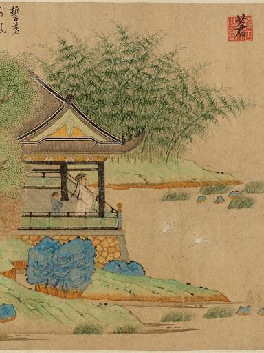 גן בסין 'וואנג איקסי' - המאה הרביעית לספירה