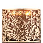 Gold Botanical 3 Wick Candle Holder Bath Body Works