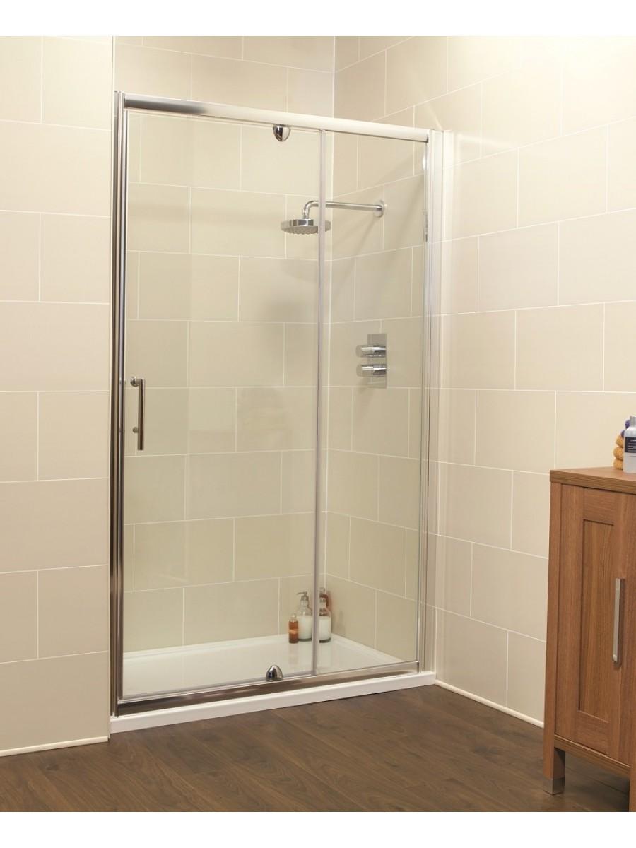 Kyra Range 1200 Pivot Shower Door Inline Shower Enclosure Adjustment 1160 1220mm