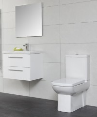 Soho Bathroom Set - with Vanity Unit and Basin and Toilet