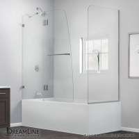 AquaLux Tub Door with Return Panel