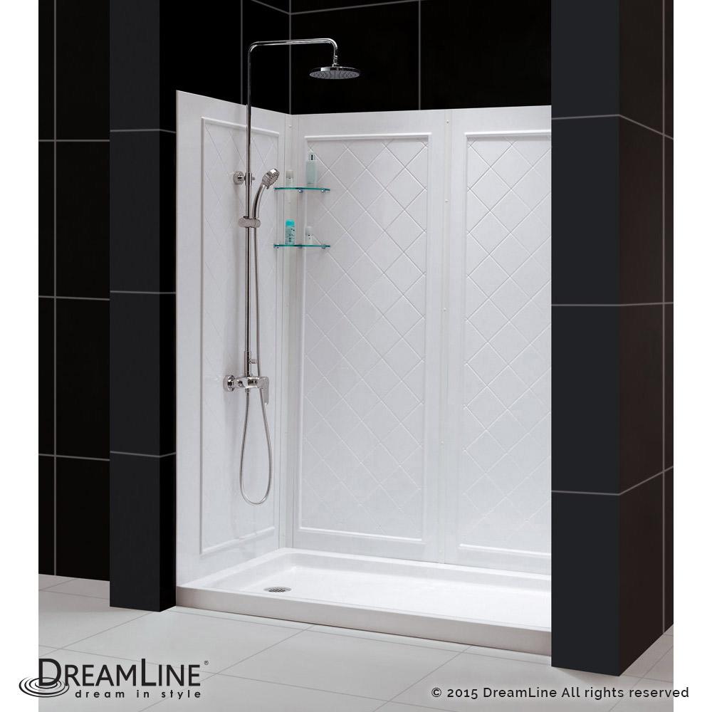 DreamLine showers QWALL5 Shower Backwalls Kit