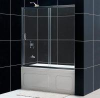 Infinity Sliding Bathtub Door. Bathroom Glass Tub Doors ...