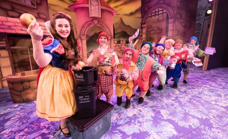 Panto Stars Help B&NES Council Highlight Importance Of