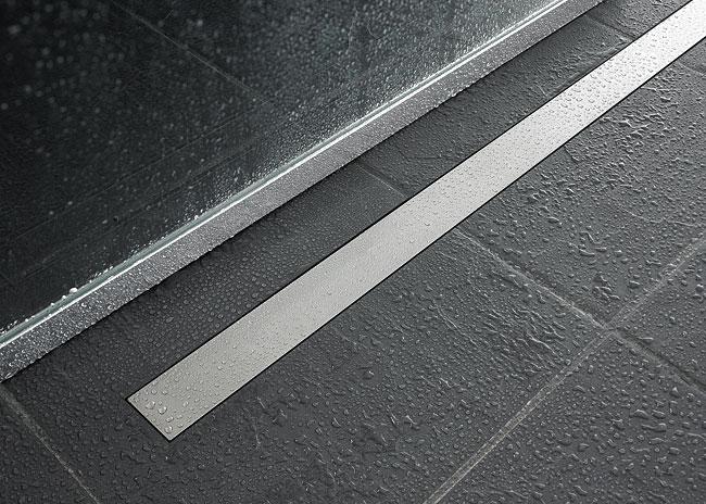 kitchen faucets stainless steel splash guard aco quartz solid grate 9010.59.22 shower channel at bath ...