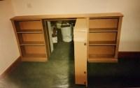 secret bookcase doors uk, hidden bookcase doors, hidden