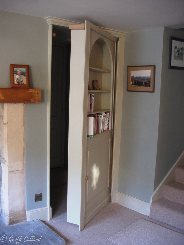 Secret Bookcase Doors Bath Furniture Makers