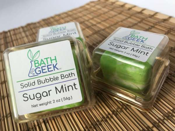 Sugar Mint Bubble Bath - Box View