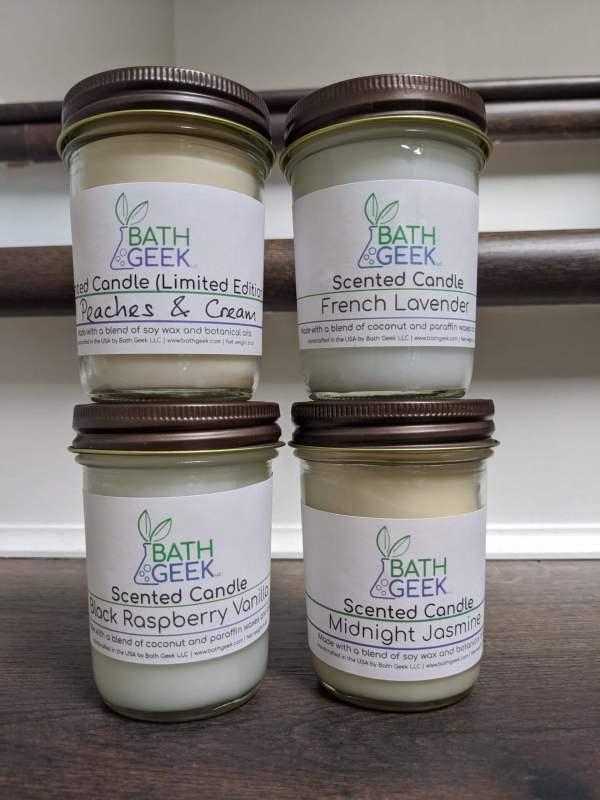 Candles by Bath Geek