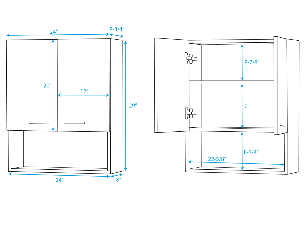 wall cabinet sizes for kitchen cabinets remodeling software 48 quot abba mounted single bath vanity bathgems