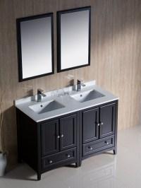"48"" Oxford Double Sink Vanity - Espresso - Bathgems.com"