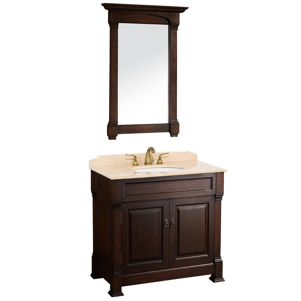 Cherry Wood Bathroom Mirrors - Cherry wood bathroom mirror