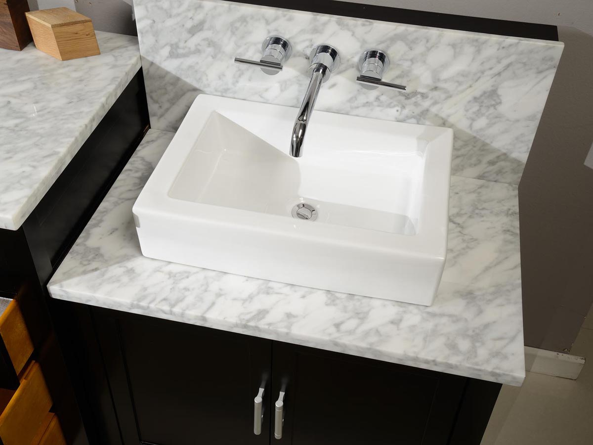 84 Torrington Double Vessel Sink Vanity Espresso