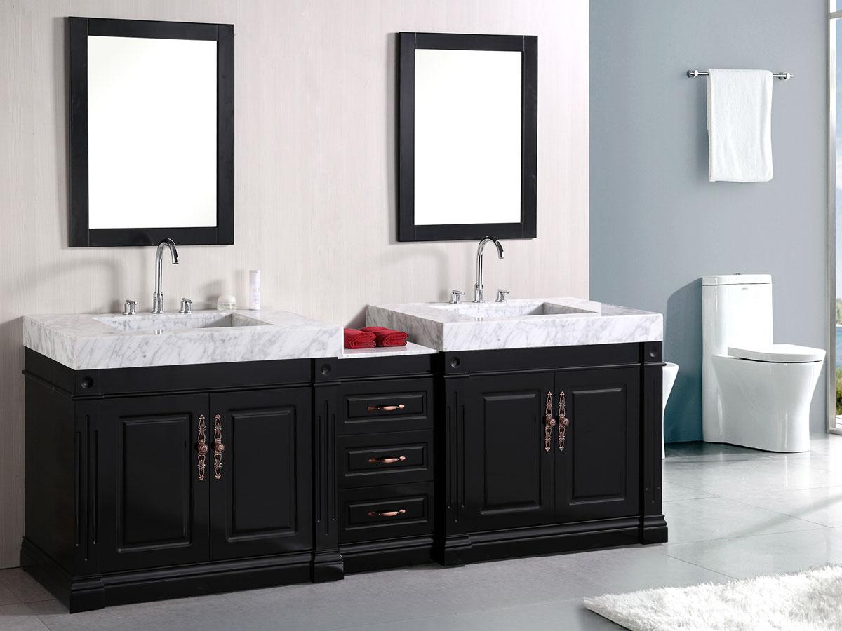 "88"" Odyssey Double Sink Vanity"