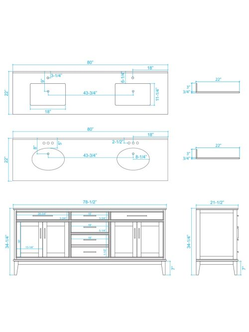 small resolution of 80 hatton double sink vanity dimensions