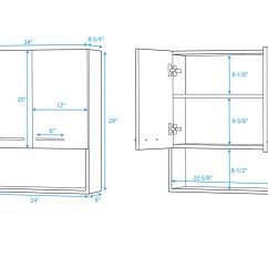 Wall Cabinet Sizes For Kitchen Cabinets Orlando Hotels With Kitchens Zentra Espresso Bathgems