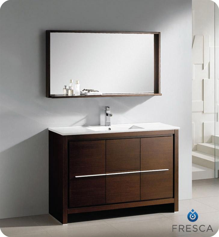 4725 Allier Single Bath Vanity  Wenge  Bathgemscom