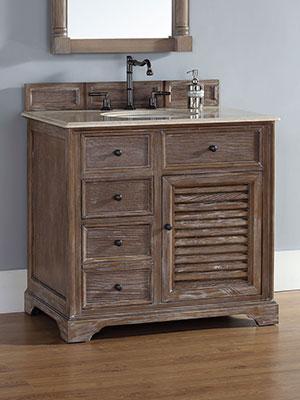36 Prata Single Bath Vanity  Driftwood  Bathgemscom