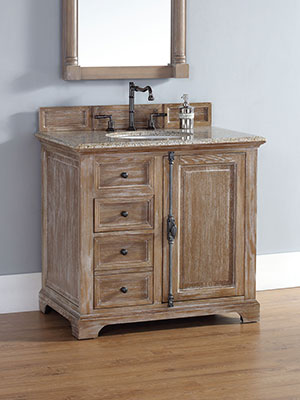 36 Alvito Single Bath Vanity  Driftwood  Bathgemscom
