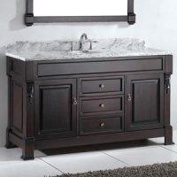 "59.5"" Huntshire Single Bath Vanity - Bathgems.com"