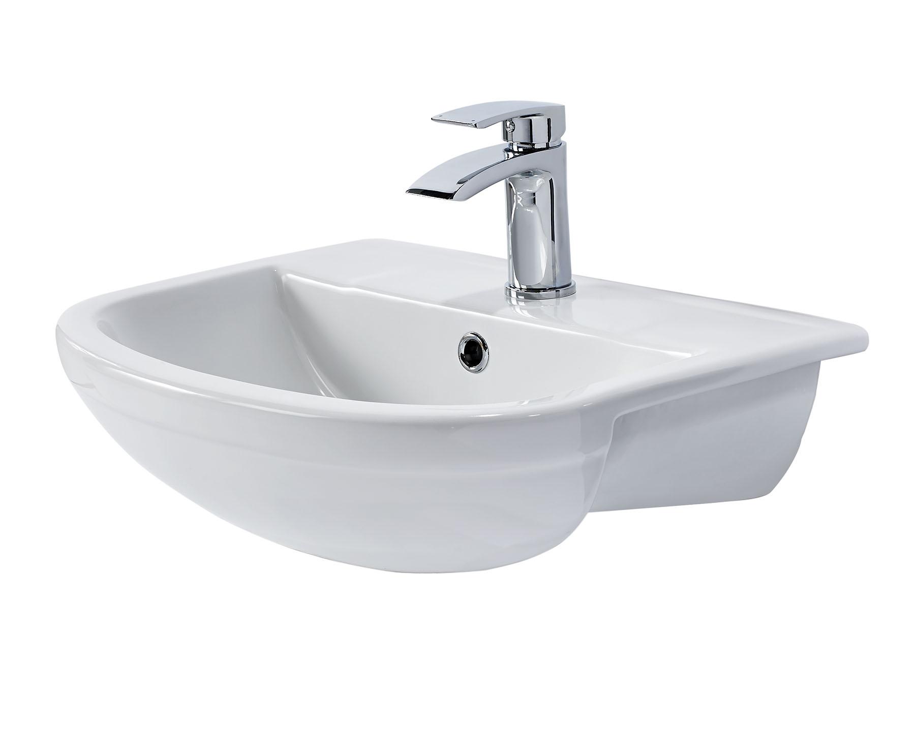 ELGIN SEMI RECESSED BASIN  Bath Giant