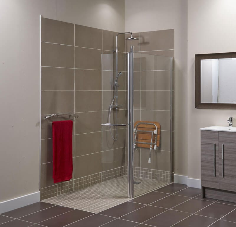 folding chair uk pedicure chairs wet room showers | what is a wetroom? bathing solutions