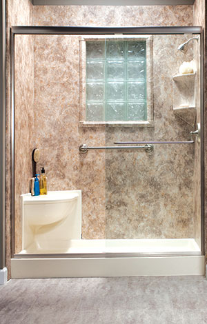 Shower Systems Bath Makeover