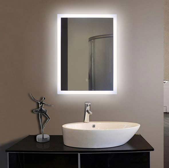 Illuminated bath mirrors suppliers FP04  LED Bathroom Mirror Manufacturers