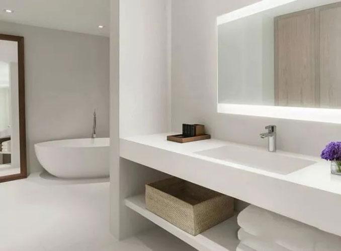 Hilton Hotel LED Bathroom Mirror  LED Bathroom Mirror