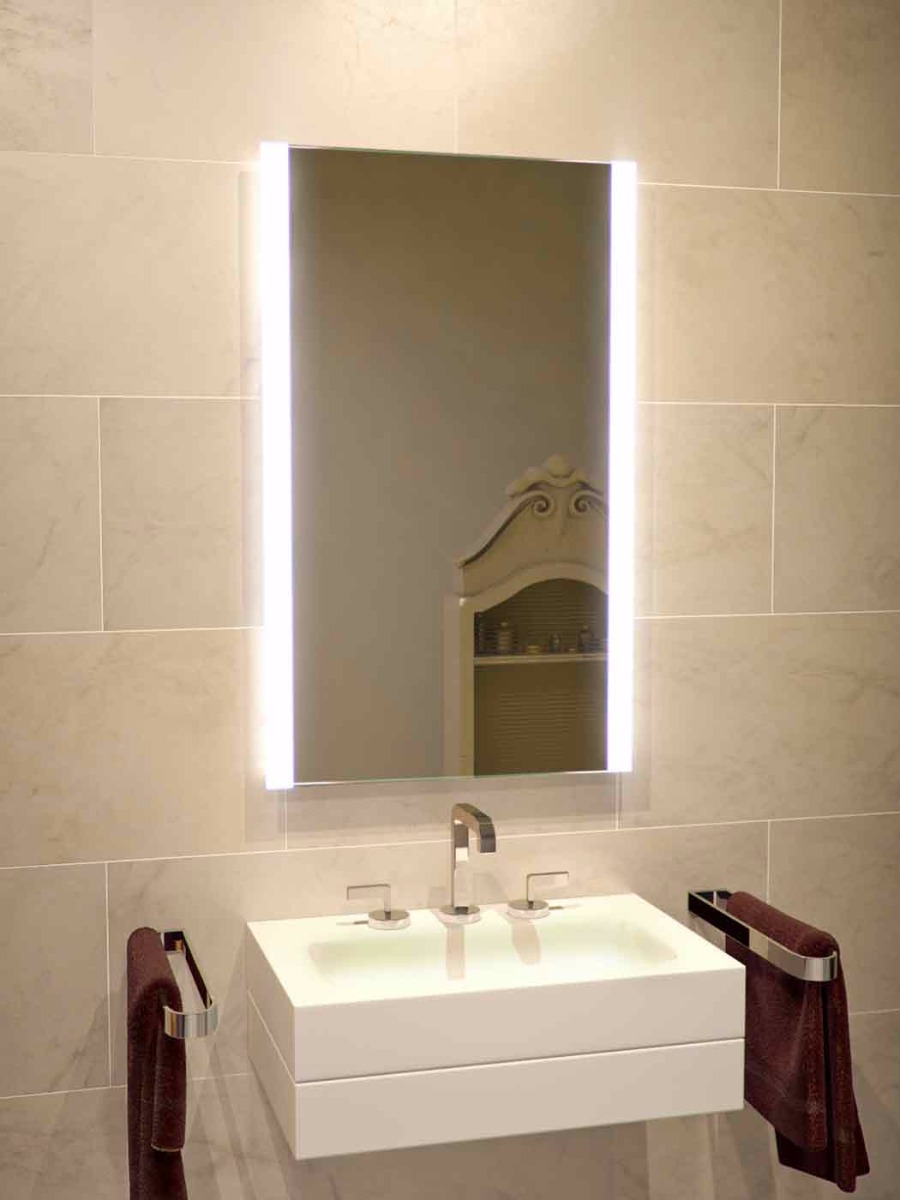 HYATT Lighted Bathroom Mirrors  LED Bathroom Mirror