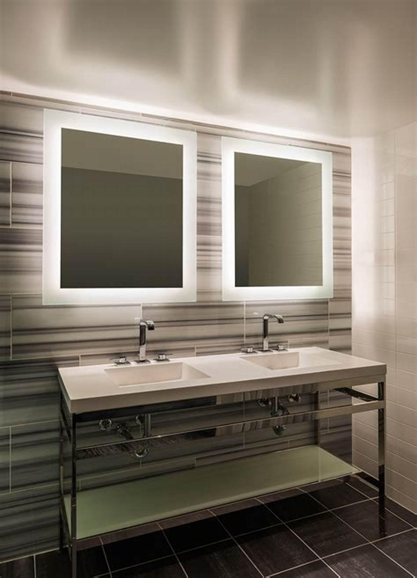 Radisson Inn Electric Lighted Mirror  LED Bathroom Mirror