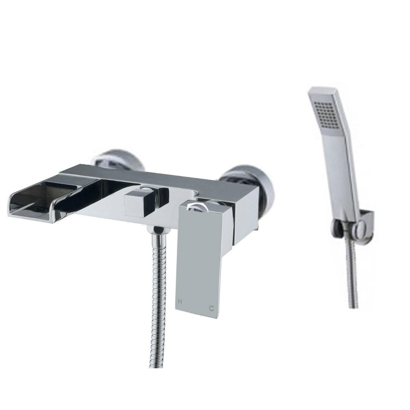 Kensington Wall Mounted Bath Shower Mixer Tap Wbt07