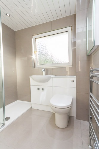 Walk in Shower Dunipace - Bathroom Centre Stirling