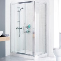 Mirror Shower Door Side Panel | Bathroom City