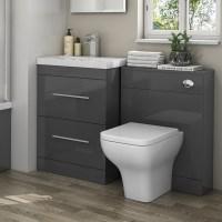 Patello 1200 Bathroom Furniture Set Grey Buy Online at ...